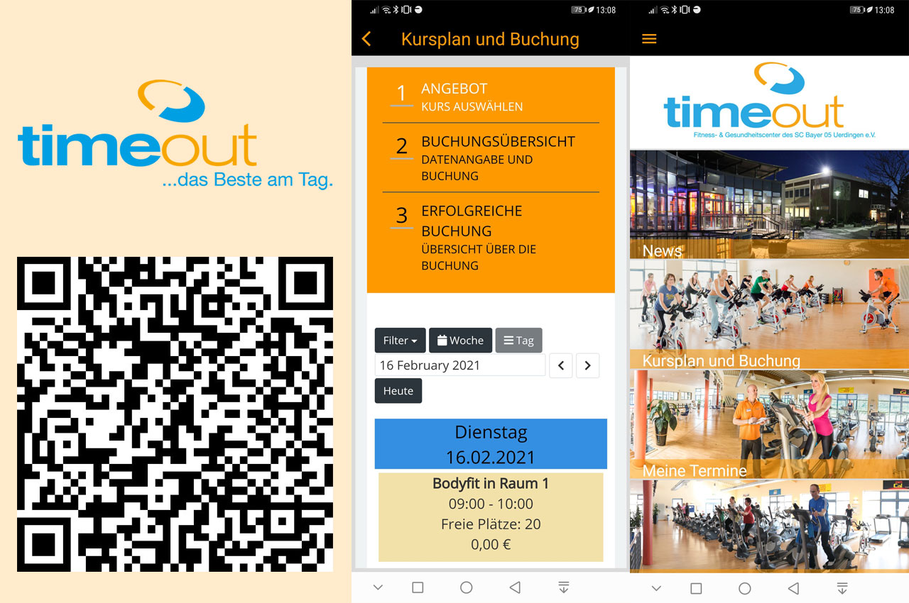 timeout - Club App
