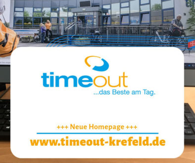 Neue timeout Homepage